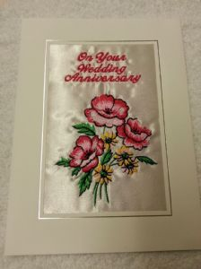 ON YOUR ANNIVERSARY CARD - Flower 5